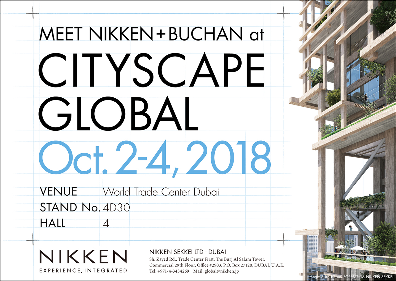 Nikken at Cityscape Global Dubai 2018